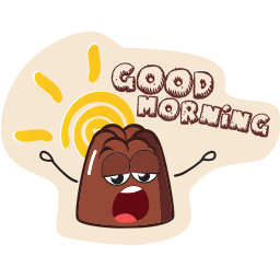 pudding_emoticons_goodmorning