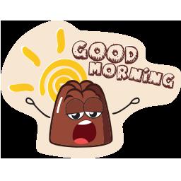 pudding_emoticons_goodmorning